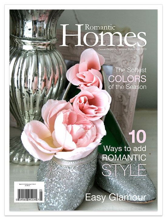 Editorial Design Romantic Homes Magazine Natalie Andrews